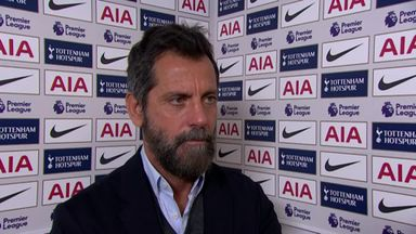 Flores: We're trying to be positive