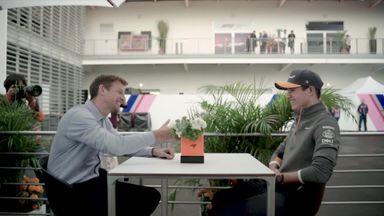 Jenson meets Lando