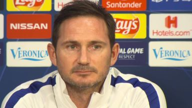 Lampard: 'Respect, not fear, for Ajax'