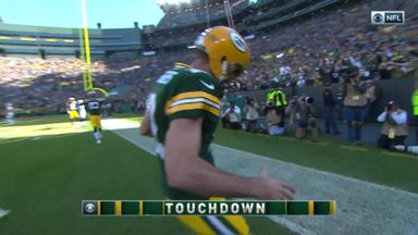 Rodgers TD for Packers