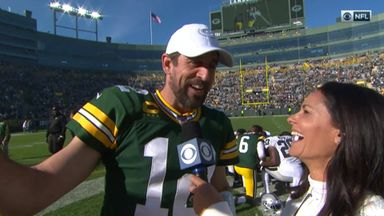 Rodgers proud of new record