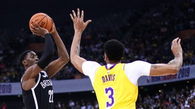 Preseason: Nets 91-77 Lakers