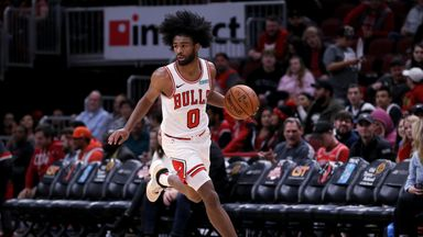 Rookie White stars in Bulls win