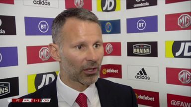 Giggs happy with point