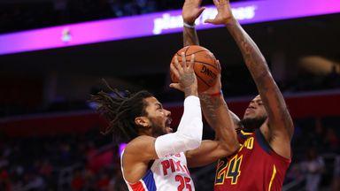 Preseason: Cavaliers 105-109 Pistons