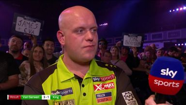 Van Gerwen: Never write me off