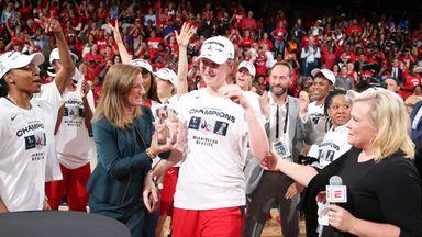 Mystics' Meesseman named WNBA Finals MVP