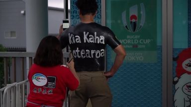 Meet the Rugby World Cup superfan