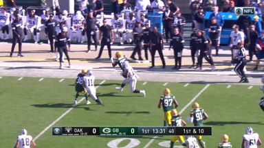 Josh Jacobs 42-yard run