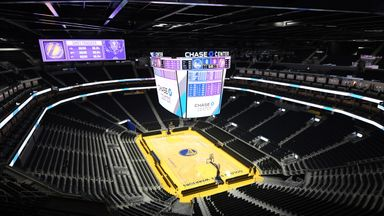 Inside Chase Center, the Warriors' new home