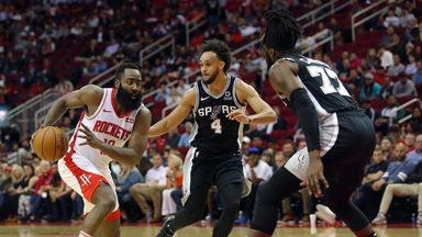 Preseason: Spurs 128-114 Rockets