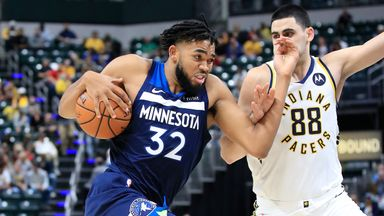 Preseason: Timberwolves 119-111 Pacers