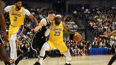 Preseason: Nets 114-111 Lakers