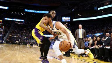 Preseason: Lakers 103-124 Warriors
