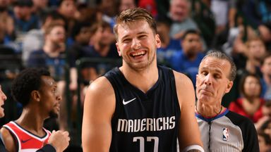 Luka unleashes magic against Wizards