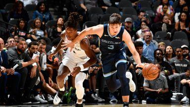 Preseason: Grizzlies 91-104 Spurs