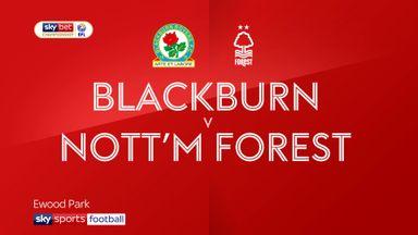 Blackburn 1-1 Nott'm Forest