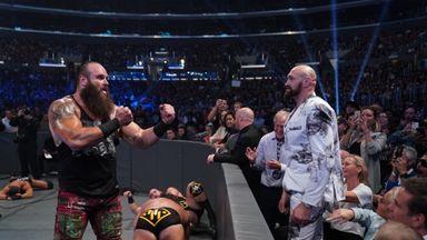 Tyson Fury interrupts WWE match!