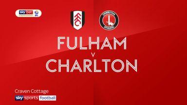 Fulham 2-2 Charlton