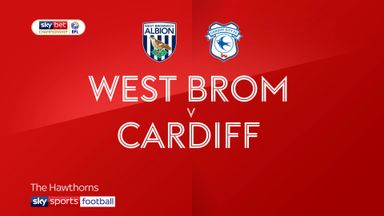 West Brom 4-2 Cardiff