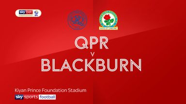 QPR 4-2 Blackburn