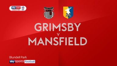 Grimsby 0-1 Mansfield