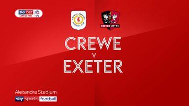 Crewe 1-1 Exeter