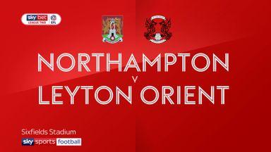 Northampton 0-1 Leyton Orient
