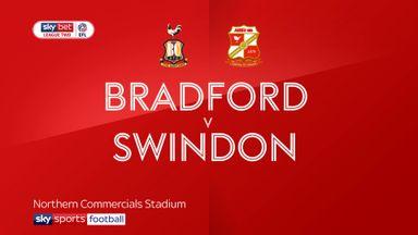 Bradford 2-1 Swindon