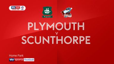 Plymouth 2-2 Scunthorpe