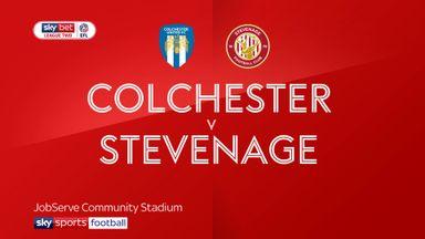 Colchester 3-1 Stevenage
