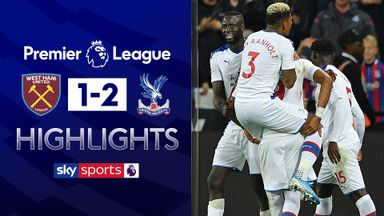 Late VAR sees Palace beat West Ham