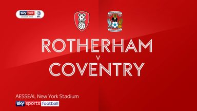 Rotherham 4-0 Coventry