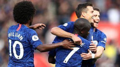 HT Southampton 1-3 Chelsea