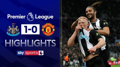 Newcastle pile misery on Man Utd