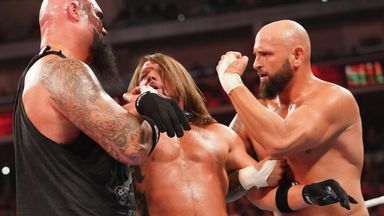 Did Strowman send message to Tyson Fury?