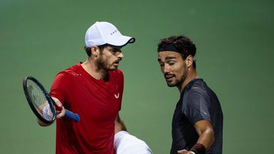 Murray tells Fognini to 'shut up!'