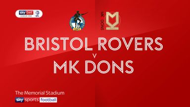 Bristol Rovers 1-0 MK Dons