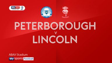 Peterborough 2-0 Lincoln