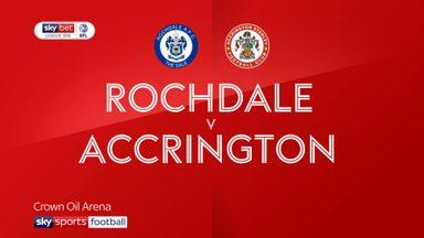 Rochdale 2-1 Accrington