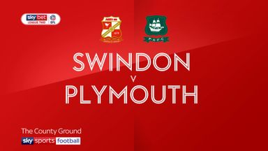 Swindon 1-1 Plymouth