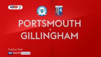Portsmouth 0-0 Gillingham