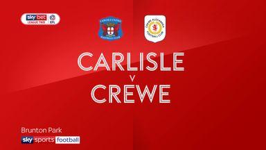 Carlisle 2-4 Crewe