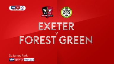 Exeter 1-0 Forest Green