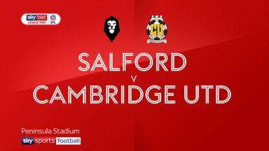 Salford 1-0 Cambridge