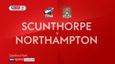 Scunthorpe 3-0 Northampton