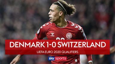 Late Poulsen strike secures Denmark win