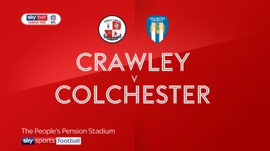 Crawley 2-1 Colchester