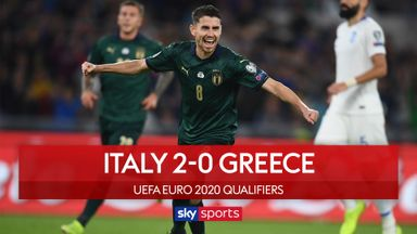 Jorginho pen helps Italy beat Greece