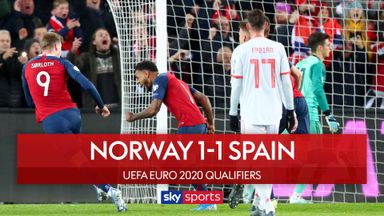 Spain held in Norway